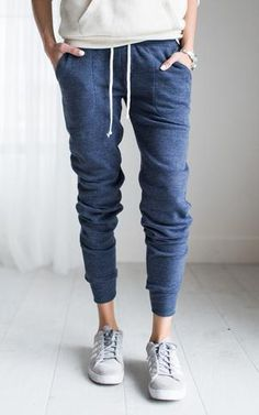 Ily Couture Eco Blue Joggers
