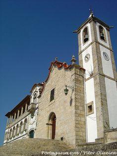 Igreja Matriz de São Romão - Portugal by Portuguese_eyes, via Flickr
