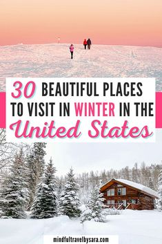 Travel Blog, Usa Travel Guide, Travel Usa, Travel Tips, Travel Goals, Best Winter Vacations, Vacations In The Us, Best Winter Destinations, Travel Destinations