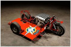 MV Augusta Sidecar racing setup