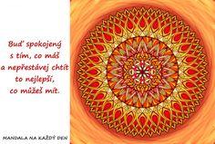 Mandala Touha a spokojenost Mandala Art, Outdoor Blanket, Relax, Symbols, Words, Horse, Glyphs, Icons