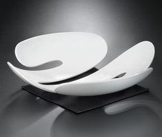 Eve Fruit bowl Solid black by Koziol