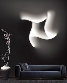 led wall lamp formala plus 1 by cininils design luta bettonica