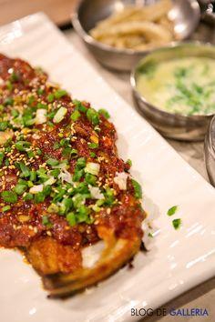 갤러리아 고메이 494 '코다리 냉면'의 코다리 정식. 겨울철 이런 별미가 있을까요? 없던 입맛도 되돌려줄 맛있는 코다리 양념구이 맛을 꼭 보셔요!!