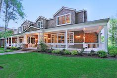 My dream home, dream home design, house design, dream life, wrap around por Dream Home Design, My Dream Home, House Design, Dream Life, Dream Homes, Exterior Gris, Exterior Design, Exterior Homes, Southern Living