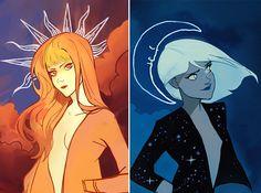 Illustrator and Comic Artist Gabriel Picolo. Gabriel Picolo is a famous comic artist and illustrator from Sao Paulo Brazil. Art And Illustration, Arte Inspo, Kunst Inspo, Fantasy Kunst, Fantasy Art, Anime Kunst, Anime Art, Pretty Art, Cute Art