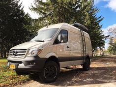 2016 Sprinter 4x4 conversion with Aluminess ladder