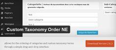 """Для сортировки очерёдности вывода рубрик использую плагин """"Custom Taxonomy Order NE"""" https://wordpress.org/plugins/custom-taxonomy-order-ne/"""