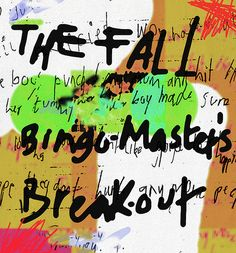 the fall from Live 1977 Punk Poster, Post Punk, Car Park, Rockers, Mixed Media, Alternative, Greeting Cards, Wall Art, Fall