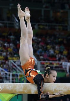 Yilin Fan of China competes in the Women's Balance Beam final on day 10 of the…