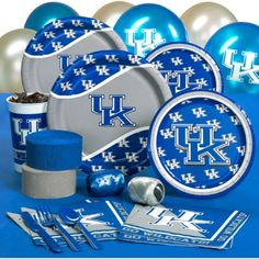 Kentucky Wildcats Party  I needed these this year (2012) but I'll get them next year.