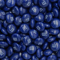 Dark Blue M&M's - Milk Chocolate 5lb