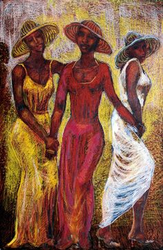 Sisters - Geoffrey Holder. Trinidad and Tobago