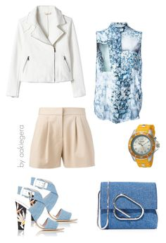 """Flora"" by aakiegera on Polyvore featuring мода, Rebecca Taylor, MM6 Maison Margiela, Fendi, 3.1 Phillip Lim, KYBOE! и Boutique Moschino"