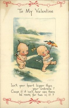 THIS IS SO ADORABLE. Rose ONeill Kewpies postcard | eBay