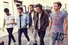 Fotos promocionales del álbum Midnight Memories de One Direction