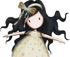 Esta boneca é muito fofinha, acho eu.