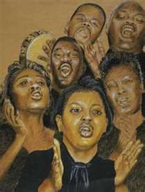 praise Him with instruments African American Artwork, American Artists, African Art, African Women, Artist Painting, Artist Art, Art Paintings, Heaven Art, Black Art Pictures