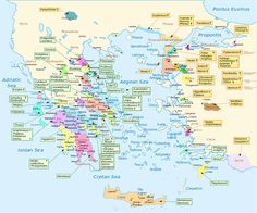 From Wikiwand: Map of Homeric Greece (right-click on map to enlarge).
