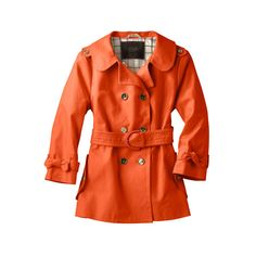 I only see this in stock in black and white at Coach's website. I love it in orange though, especially the detail of the bows on the cuffs.