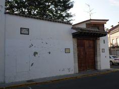 ESQUIVIAS (TOLEDO). Fachada casa museo de Cervantes.