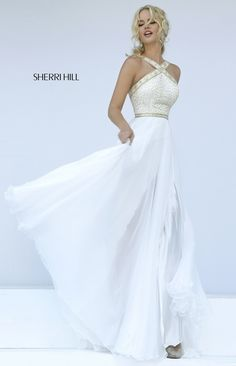 I would most likely never have the opportunity to wear this anywhere but it's a beautiful dress ... that I want