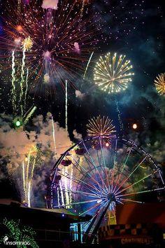 #fireworks #ferriswheel #carnival