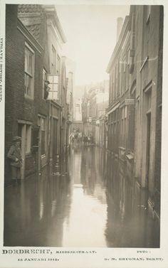 Riedijkstraat 1916 overstroming