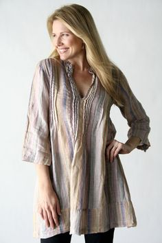 Product Image: Regina Tunic Light Stripes in Women's Clothing: Cp Shades Clothing 2012