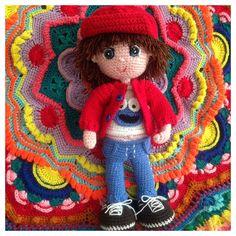 Geronimo en amigurumi, tejido crochet byjaneth