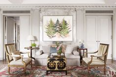 Michael S. Smith Renovates His Manhattan Penthouse : Interiors + Inspiration : Architectural Digest