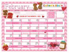 February 2012 Calendar | FREE Online Preschool | Cullen's Abc's    http://online-preschool.cullensabcs.com/