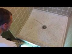 Terrazzo Shower Base Repair U0026 Reglaze In Kansas City, MO.   Specialized  Surface Repairs