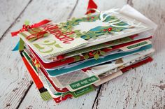 December Daily/Christmas Traditions Albums by Jen Gallacher