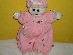 Knitted Doll - Knitting creation by mobilecrafts | Knit.Community