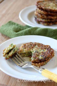 Zucchini Fritters @Rachel {Baked by Rachel}