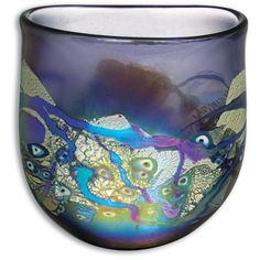 Robert Held | Mosaic, Art glass  I love this piece. Again those lovely sea colors. I must need some seaside r!