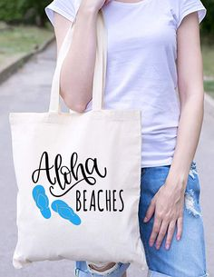 I/'m A Succa For A Pun Large Beach Tote Bag Funny Joke Succulent Shoulder