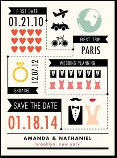 Chic Infographic:Pearl Wedding Paper Divas