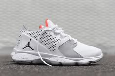 "Jordan Flow ""White, Grey & Infrared"" (Detailed Pics) - EU Kicks: Sneaker Magazine"