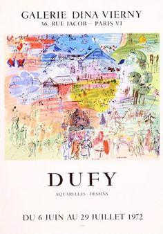 Raoul Dufy - Galerie Dina Vierny, Paris
