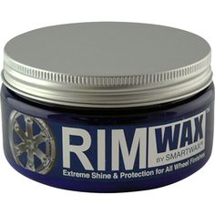 Black Friday Smartwax 10100 Rim Wax Ultimate Shine and Protection - 8 oz. from Smartwax Car Polish, Rims For Cars, Chrome Wheels, Car Cleaning, Car Detailing, Coffee Cans, Automotive Tools