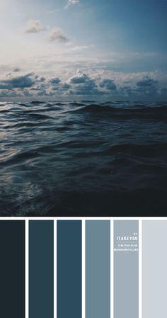 Deep ocean colour scheme – Colour Palette #42