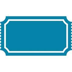 Silhouette Design Store - View Design #19569: ticket