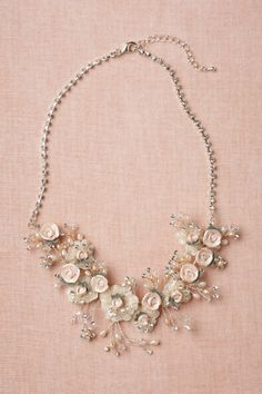 Tender Buds Necklace. DIY challenge--recreate this for less.