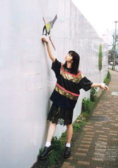 小松菜奈 Nana Komatsu Japanese model for 装苑 Japanese Models, Japanese Girl, Nana Komatsu, Ootd Poses, Girls Rules, Japan Fashion, Ulzzang Girl, Girl Crushes, Cute Girls