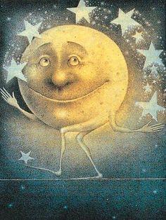 Juggling moon!