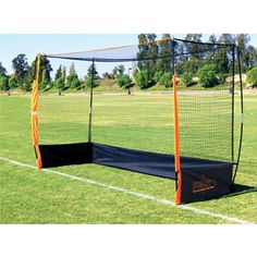 Bownet Portable Field Hockey Goal  This would be great for coaching.
