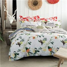 We are loving this: Spring Love 6 Pie.... Found ON SALE: http://www.rousetheroom.com/products/spring-love-6-piece-bedding-set-duvet-reversible?utm_campaign=social_autopilot&utm_source=pin&utm_medium=pin