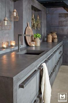 If I ever do a concrete kitchen